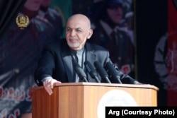 د افغانستان د اسلامي جمهوریت جمهور رئیس محمد اشرف غني
