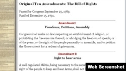 Bil of Right / Amendment