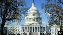 位于首都华盛顿的美国国会大厦