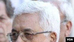 Presiden Palestina Mahmoud Abbas tiba di Kairo, Mesir.