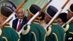 Le président Jacob Zuma au Parlement à Cape Town, Afrique du sud, le 9 février 2017.