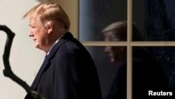 El presidente Donald Trump firmará orden ejecutiva sobre inteligencia artificial el lunes, 11 de febrero de 2019.