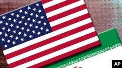 Bendera Iran dan Amerika Serikat. (Foto: AP)