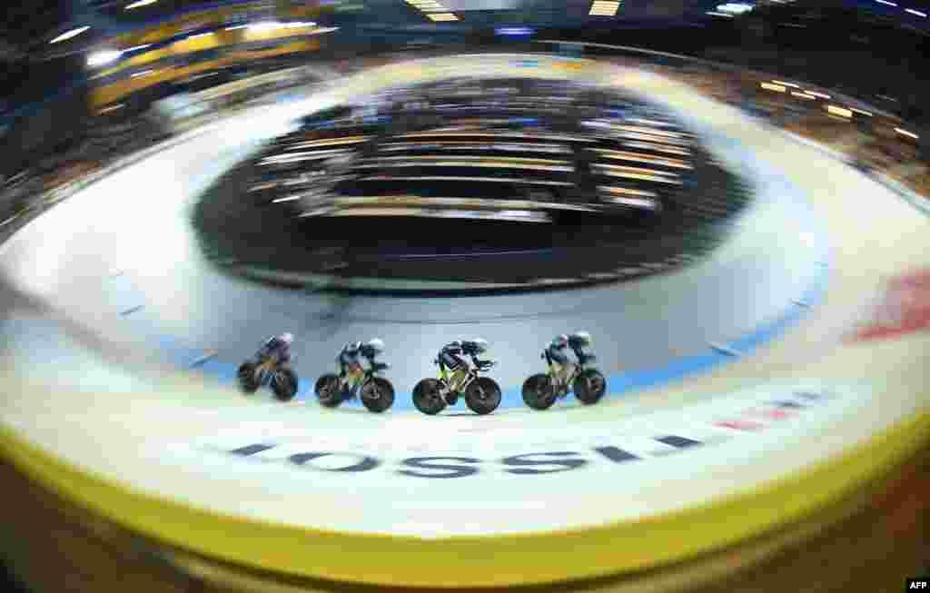 Salon Bisiklet Şampiyonası'nda yarışları - Hollanda