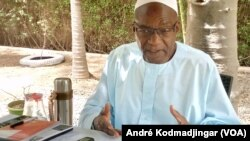 Député Saleh Kebzabo président de l'UNDR, au Tchad, le 30 décembre 2020.