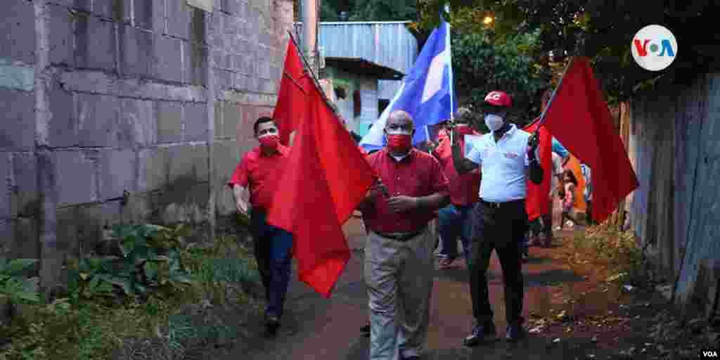 La actividad del partido PLC duró menos de dos horas, a como lo establece el Tribunal Electoral debido a la pandemia.