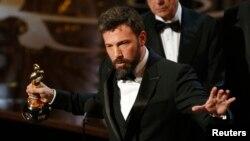 Ben Affleck, derhêner û aktorê fîlmê 'Argo'.