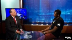 NBA Star Luol Deng speaks with Sonny Young, host of Sonny Side of Sports