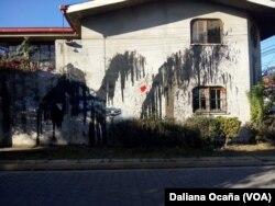 La expresa política Amaya Coppens denuncai que su vivienda ha sido blanco de acoso.