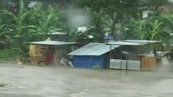 Typhoon Haiyan Slams the Philippines