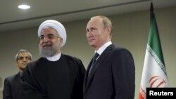 Rossiya va Eron rahbarlari