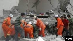 چین میں زلزلہ