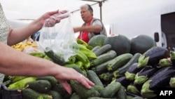 Росія заборонила імпорт свіжих овочів з ЄС
