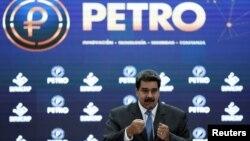 Perezida wa Venezuela Nicolas Maduro