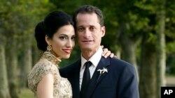 Anthony Weiner i Huma Abedin, fotografija s vjenčanja