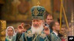پدر کیریل رهبر کلیسای ارتدکس روسیه - آرشیو