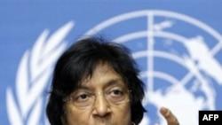 Ủy viên về nhân quyền Liên Hiệp Quốc, bà Navi Pillay