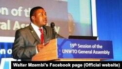Zim Tourism Minister Walter Mzembi