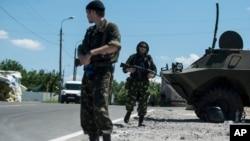 Proruski separatisti na istoku Ukrajine