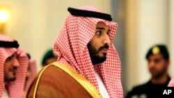 Phó Thái Tử của Ả Rập Xê-út, và cũng là Bộ trưởng Quốc phòng Mohammed bin Salman.
