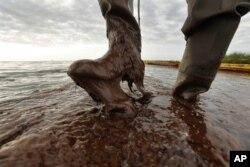 Au plus fort de la pollution dans le Golfe du Mexique