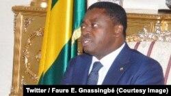 Le président Faure Gnassingbé à Lomé, 27 juin 2018. (Twitter/ Faure E. Gnassingbé)