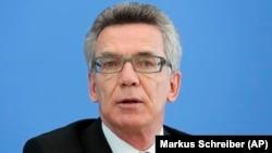 Menteri Dalam Negeri Jerman Thomas de Maiziere (foto: dok).
