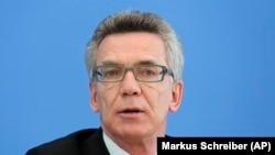 Federal İçişleri Bakanı Thomas de Maiziere