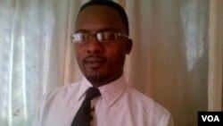 Norris Moyo, vice president of the Progressive Democrats of Zimbabwe.
