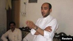 Ông Ali Haider Gilani bị bắt cóc trong một cuộc tuần hành bầu cử năm 2013 tại thành phố Multann.