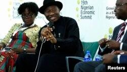 Shugaban Najeriya a Abuja