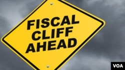 Fiscal cliff as a traffic sign
