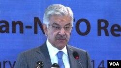 وفاقی وزیر دفاع خواجہ آصف