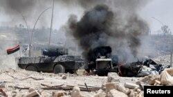伊拉克安全部隊正在對摩蘇爾展開最後的攻擊。