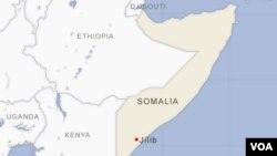 Arhiva - Geografska karta Somalije
