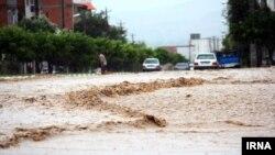 بارندگی یک روز گذشته سیل در گرگان و شهرهای گلستان و مازندران را موجب شده است.