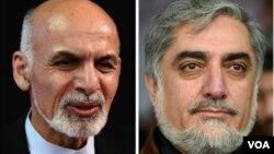 دو کاندید که ممکن در دور دوم احتمالی انتخابات با هم رقابت کنند