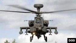 اپاچی ہیلی کاپٹر (فائل فوٹو)