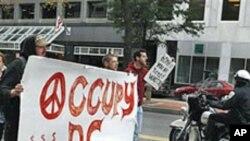 آکیوپائی وال سٹریٹ مظاہرین کی انفرادیت