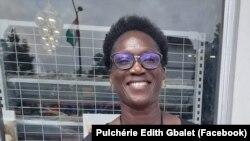 Pulchérie Edith Gbalet à Abidjan en Côte d'Ivoire le 12 août 2020. (Facebook/ Pulchérie Edith Gbalet)