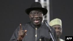 Ông Jonathan chấp nhận sự đề cử và kêu gọi hai đối thủ của ông hợp tác để cải thiện tình hình đất nước