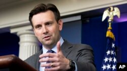White House press secretary Josh Earnest, May 11, 2015.