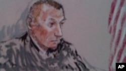 رابرت بیلز در روز صدور حکم