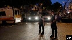 «دارن اوزبورن» با ماشین به مسلمانان در جلوی مسجدی در پارک فینزبری لندن حمله کرده بود.