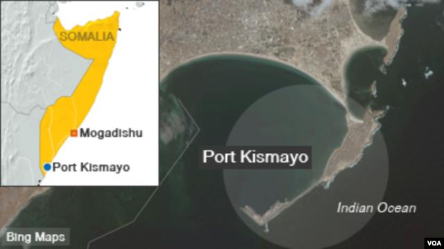 Port Kismayo, Somalia