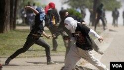 50 personas fueron detenidas en Chile, la mayoría por porte de bombas incendiarias.
