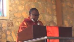Pasteur Daniel Ngoyi Mulunda na misa na Lubumbashi, 16 janvier 2021.
