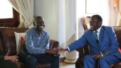 Abanye Abantu Bachothoza uMnangagwa Owethekelele uTsvangirai