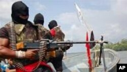 Para militan di kawasan Delta Niger (foto: dok).