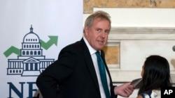 Britanski ambasador Kim Darroch bio je domaćin skupa Nacionalnog kluba ekonomista u britanskoj ambasadi, 20. oktobra 2017.